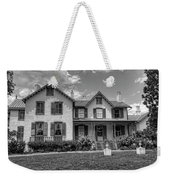 Lincoln Cottage In Black And White Weekender Tote Bag