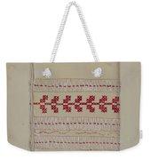 Linen Towel Weekender Tote Bag