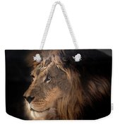 Lion King Of The Jungle Weekender Tote Bag by James Sage