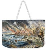 Lisbon Earthquake, 1755 Weekender Tote Bag