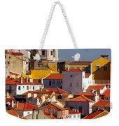 Lisbon View Weekender Tote Bag