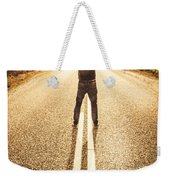 Living In The Moment Weekender Tote Bag
