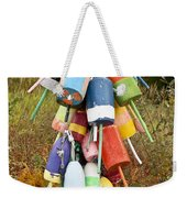 Lobster Bouys Weekender Tote Bag