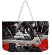 Locomotive Wheel Weekender Tote Bag