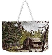 Log Cabin, 1826 Weekender Tote Bag