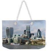London City Weekender Tote Bag