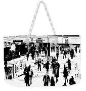 London Commuter Art Weekender Tote Bag