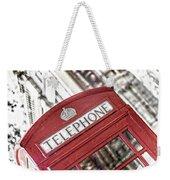 London Telephone 3b Weekender Tote Bag