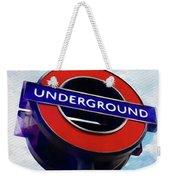 London Underground Weekender Tote Bag