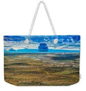 Lone Rock In Lake Powell Utah Weekender Tote Bag
