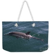 Long-beaked Common Dolphins In Monterey Bay 2015 Weekender Tote Bag