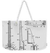 Long Neck Banjo Patent From 1964 Weekender Tote Bag