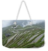 Longsheng Rice Terraces Weekender Tote Bag