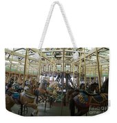 Looff Carousel Santa Cruz Boardwalk Weekender Tote Bag