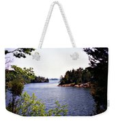 Looking Out Over The River Weekender Tote Bag