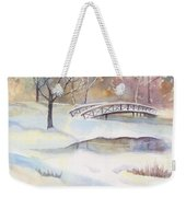 Lost Lagoon Bridge Weekender Tote Bag