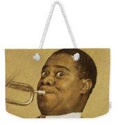 Louis Armstrong, Music Legend Weekender Tote Bag