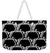 Louis Vuitton Black Weekender Tote Bag