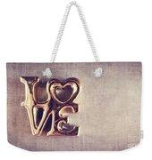 Love 2 Weekender Tote Bag