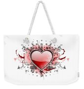Hearts 8 T-shirt Weekender Tote Bag