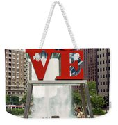 Love Sculpture Weekender Tote Bag