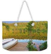 Lovely Lake Weekender Tote Bag