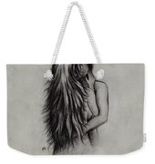 Lovers Weekender Tote Bag by Rachel Christine Nowicki