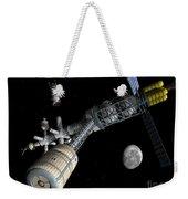 Lunar Cycler Centrifuge Weekender Tote Bag