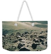 Lunar Rover At Rim Of Camelot Crater Weekender Tote Bag