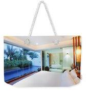 Luxury Bedroom Weekender Tote Bag
