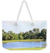 M R Ducks Weekender Tote Bag