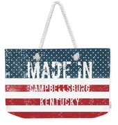 Made In Campbellsburg, Kentucky Weekender Tote Bag