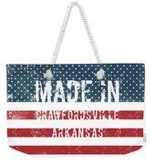 Made In Crawfordsville, Arkansas Weekender Tote Bag