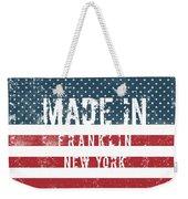 Made In Franklin, New York Weekender Tote Bag
