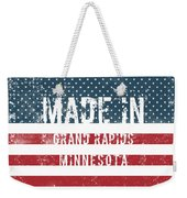 Made In Grand Rapids, Minnesota Weekender Tote Bag