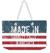 Made In Hanley Falls, Minnesota Weekender Tote Bag