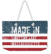 Made In Nutting Lake, Massachusetts Weekender Tote Bag