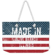 Made In Olive Branch, Illinois Weekender Tote Bag