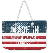 Made In Pickwick Dam, Tennessee Weekender Tote Bag