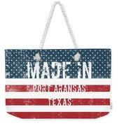 Made In Port Aransas, Texas Weekender Tote Bag