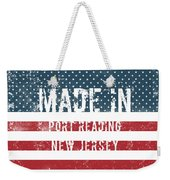 Made In Port Reading, New Jersey Weekender Tote Bag