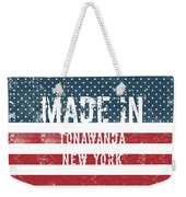 Made In Tonawanda, New York Weekender Tote Bag