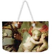 Madonna And Child Weekender Tote Bag by Gaetano Gandolfi