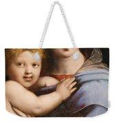 Madonna Of The Candelabra Weekender Tote Bag