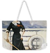 Magazine Cover, 1913 Weekender Tote Bag