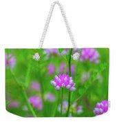 Magenta Wildflower Weekender Tote Bag