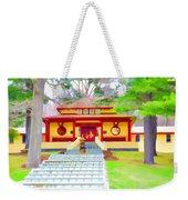 Mahayana Buddhist Temple 1 Weekender Tote Bag