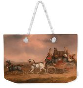 Mail Coaches On The Road Weekender Tote Bag