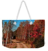 Maine October Weekender Tote Bag