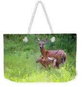 Maine White Tailed Deer Weekender Tote Bag